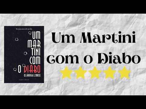 Resenha #21 - Um Martini com o Diabo de Cláudia Lemes
