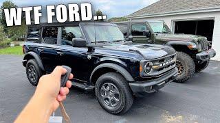Ford Absolutely SCREWED Me On My 2021 Bronco... *BUYER BEWARE*