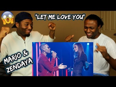 Mario & Zendaya - Let Me Love You (Live at Greatest Hits ABC) (REACTION)