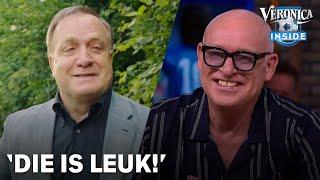 René ziet Dick Advocaat in AH-commercial: 'Die is leuk!' | VERONICA INSIDE