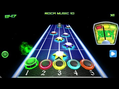 Rock vs Guitar Legends 2015 Android Gameplay
