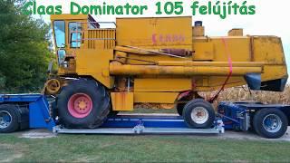 Claas Dominator 105 Felújítás 1. Rész