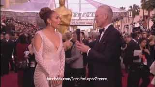Jennifer Lopez OSCARS Interview on ABC 2012