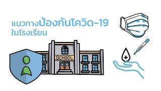 แนวทางป้องกันโควิด-19 ในโรงเรียน