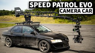 Speed Patrol Evo 8: Fastest Camera Car Around a Track?
