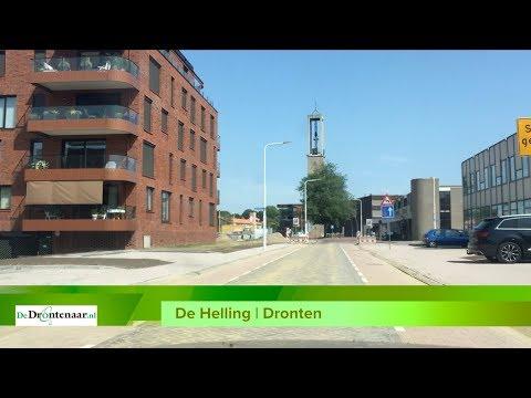 VIDEO | De Helling in centrum van Dronten tijdens bouwvakantie geopend voor het verkeer