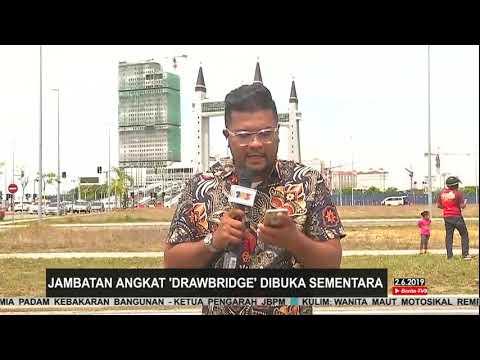 Jambatan Angkat Terengganu Dibuka Sementara