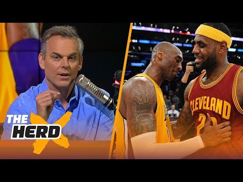 bf58ebb1805 Colin Cowherd details why Kobe s fans are terrified of LeBron James
