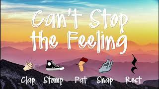 Body Percussion - Can't Stop the Feeling`