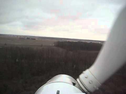 Riding a Turbine