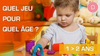 Quels jeux pour un enfant de 1 à 2 ans ? Quel jeu pour quel âge ?
