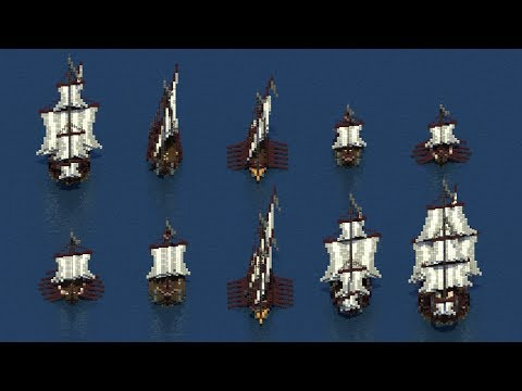 Meval Warship Collection Minecraft Project on small minecraft ship plans, small minecraft yacht tutorial, small minecraft village, small boats mod minecraft,