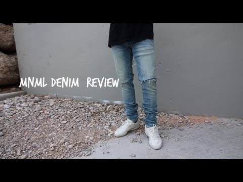 THE BEST AFFORDABLE DENIM || MNML LA Review