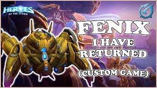 Grubby   Heroes of the Storm - Fenix - I Have Returned! - Custom Game - Volskaya Foundry