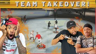 TEAM TAKEOVER! The Bums Are Back Again! (NBA 2K20 Park)
