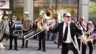 Russian flash mob in Hamburg - Русский Флешмоб в Гамбурге