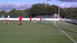 preview picture of video 'Buckley Town FC 2 - 2 Rhyl FC - 25/09/10 - 4'