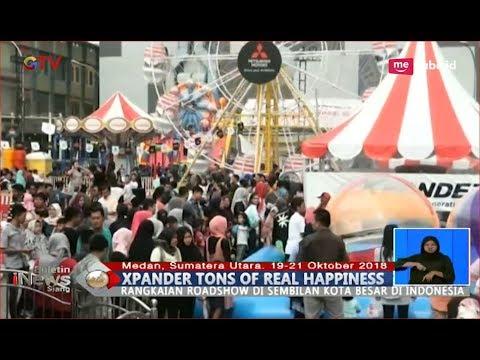 Beginilah Kemeriahan Campaign Xpander Tons of Real Happiness di Medan - BIS 22/10