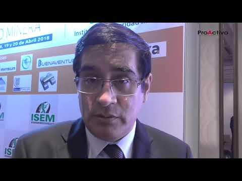Edwin Quintanilla - Gerente de Supervisión Minera de Osinergmin
