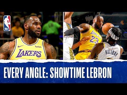 Every Angle: Showtime LeBron!