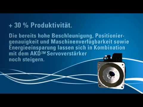 Kollmorgen Cartridge DDR® - Optimum für hochdynamische und individuelle Drehlast-Applikationen