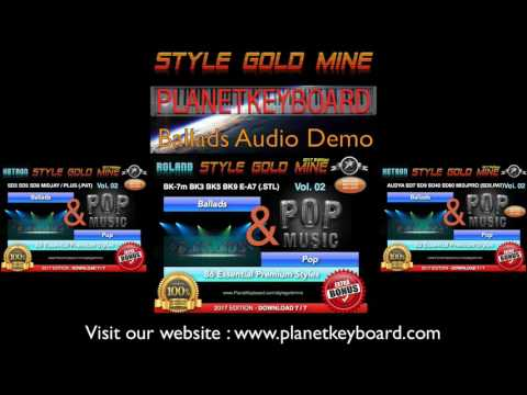 Style Gold Mine stíl - Ballads & Pop