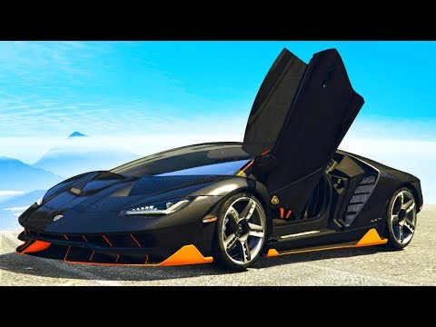 UNBELIEVABLE $50,000,000 MODDED LAMBORGHINI! (GTA 5 Lambo Mod Funny Moments)