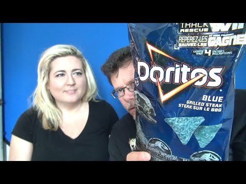 Doritos Blue Grilled Steak And Kettle Chips Review