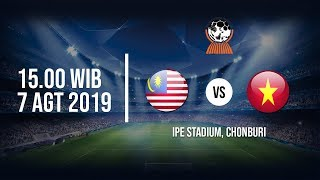 Live Streaming Semifinal Piala AFF U-15 Timnas Malaysia Vs Timnas Vietnam, Rabu (7/8) 15.00 WIB