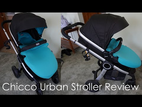 Chicco Urban Stroller Review // Momma Alia