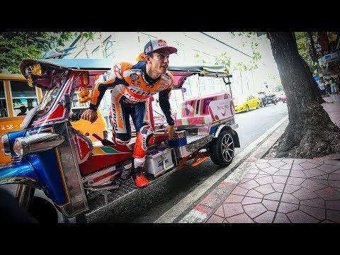 Bangkok to Buriram: Marquez's banging arrival to Thailand