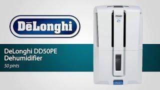 DeLonghi DD50PE 50-Pint Dehumidifier with Pump   Sylvane