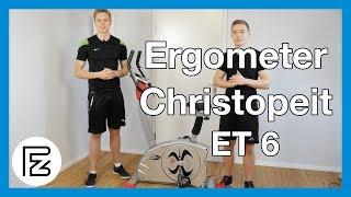 Ergometer Christopeit ET 6 im Test | Testsieger Ergometer mittlere Preisklasse!