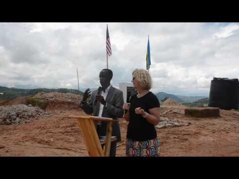 Pam Fogg dedication speech with translations by John Gasangwa
