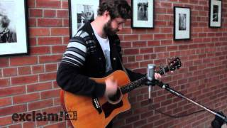 "Dan Mangan performs ""Leaves, Trees, Forest"" on Exclaim!"