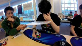 Rubik's Cube solved Blindfolded in 5:01.74 Officially   Weston Spring 2016