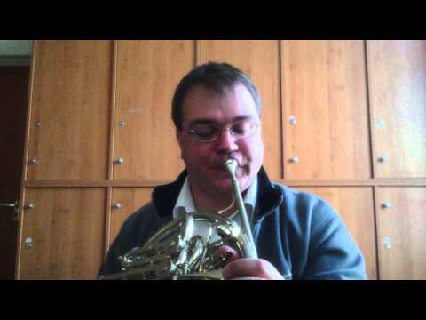 French horn practice to high G''' (Paxman 83L)