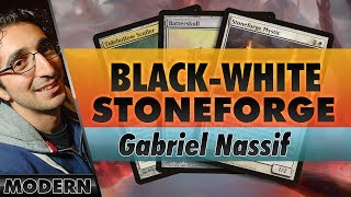 Black-White Stoneforge - Modern | Channel Nassif