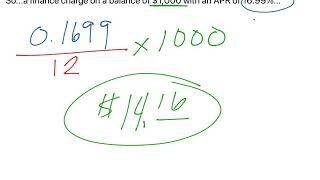 Credit Cards and Finance Charge (10)