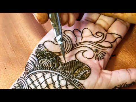 Download Latest Simple Mehndi Design Front Hand Mehndi Design
