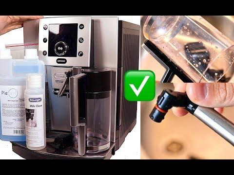 DeLonghi Perfecta Cappuccino ESAM5500 | Milchsystem Richtig Reinigen