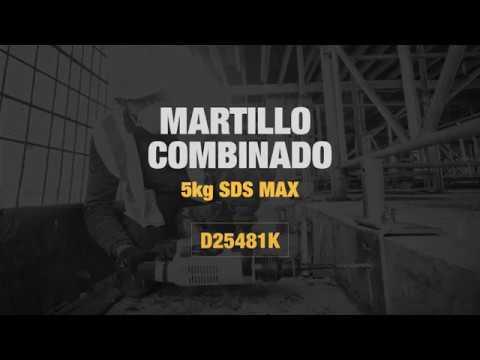 Perforateur DeWalt D25481K-QS