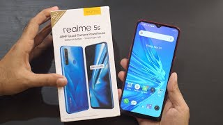 Realme 5s Unboxing & Overview 48MP Camera Difference