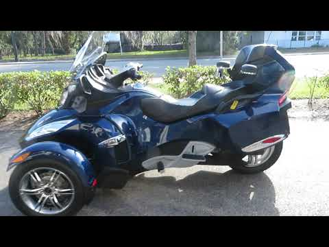 2010 Can-Am Spyder® RT-S SE5 in Sanford, Florida - Video 1