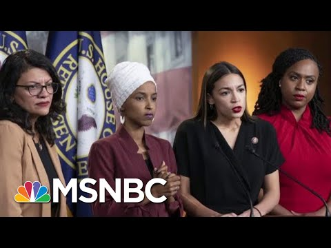 President Trump Takes His Attacks On Four Congresswomen To A New Low | Velshi & Ruhle | MSNBC