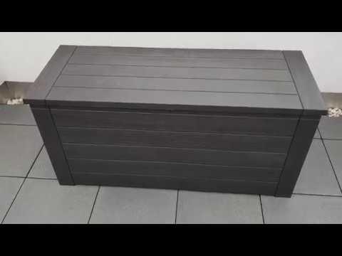 Vorstellung und Erklärung: Kunststoff Auflagenbox/Gartenbox - Modell