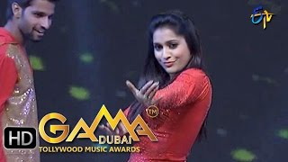 Rashmi Gautam Dance Performance in ETV GAMA Music Awards 2015 - 13th March 2016