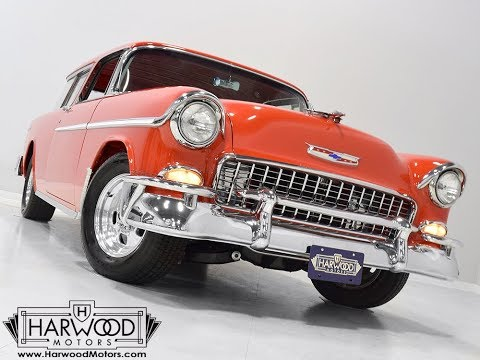 Video of '55 Nomad located in Ohio - $69,900.00 Offered by Harwood Motors, LTD. - O8YP