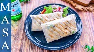 BBQ起司奶醬雞肉卷/BBQ Cream Cheese Chicken Wrap |MASAの料理ABC