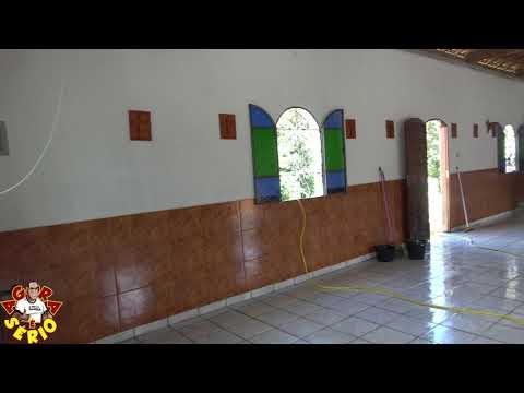 Capela Santo Antonio do Bairro dos Ritas sob reforma